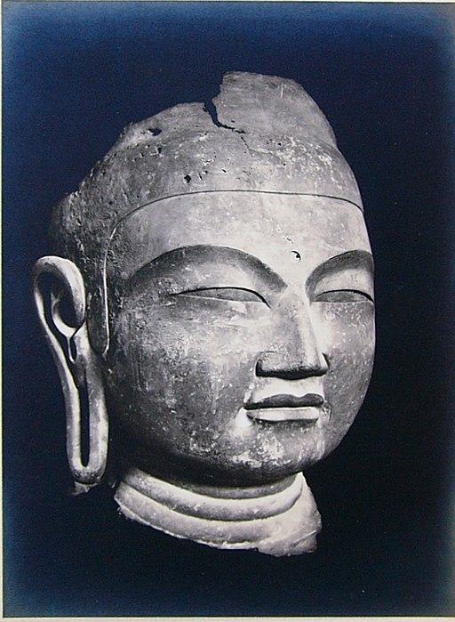 Buddha Head Yamadadera