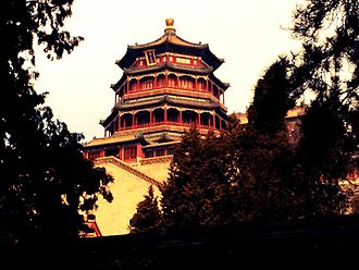 Summer Palace - Image: Buddhist Temple at Summer Palace