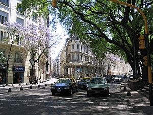 Buenos Aires - Retiro - Av. Santa Fe y Marcelo T. de Alvear