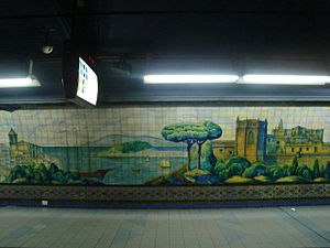 Moreno (Buenos Aires Underground) - Image: Buenos Aires Subte Moreno