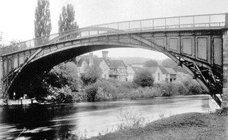 Buildwas - Telford's bridge at Buildwas