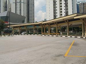 Bukit Panjang Bus Interchange - Image: Bukit Panjang Bus Interchange