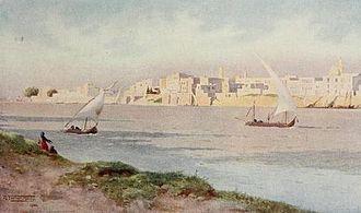 Bulaq - Boulaq from Ghezireh, 1902.