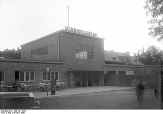 Potsdam Griebnitzsee station - The station in 1931