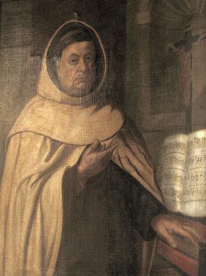 Benedictus Buns - Portrait of the composer and priest Benedictus Buns