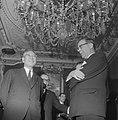 Burgemeester Van Hall ontvangt premier Ikeda van Japan in zijn ambtswoning, Bestanddeelnr 914-5351.jpg