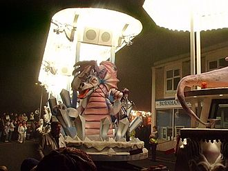 "West Country Carnival - Dragon on ""Ice Warz"" by Pentathlon CC, Burnham on Sea Carnival 2006"