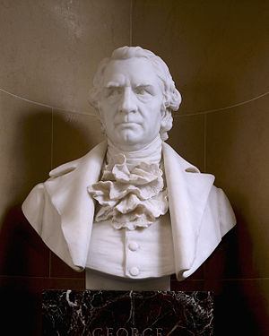 United States Senate Vice Presidential Bust Collection - Image: Bust George Clinton