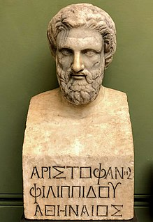 Aristophanes ancient Athenian comic playwright