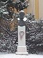 Bust of István Széchenyi by Zsolt Gulácsy-Horváth in Várkerület, 2016 Budapest.jpg