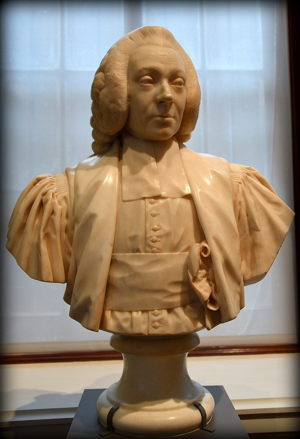 Bust of the Marquis de Miromesnil, 1775 CE. From Paris, France. By Jean-Antoine Houdon. The Victoria and Albert Museum, London
