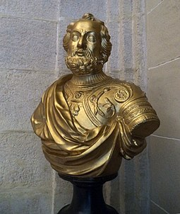 Bust Hernan Cortes in the General Archive of the Indies in Seville Busto de Hernan Cortes.jpg