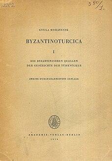 Gyula Moravcsik Professor of Byzantine languages