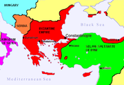 Byzantine Empire Before First Crusade