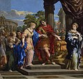 César remet Cléopâtre sur le trône d'Égypte - Pierre de Cortone.jpg