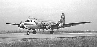 Northwest Airlines Flight 4422 - A Douglas C-54 similar to the accident aircraft