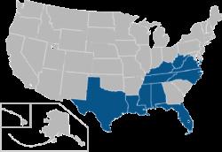 Conferencia ubicaciones EE.UU.