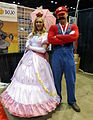 C2E2 2015 - Princess Peach & Mario (16684275824).jpg