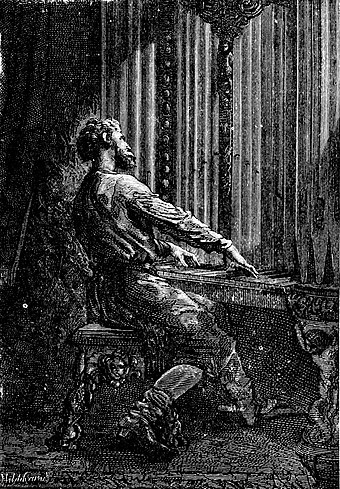 Captain Nemo is one of many Victorian literary characters featured in The League of Extraordinary Gentlemen CAPTAIN NEMO PLAYING THE ORGAN.jpg