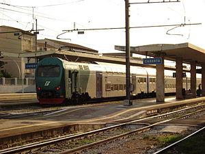 Caserta railway station - Image: CASERTA 4
