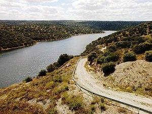 CC-Río Almonte bajo viaducto de vía de la Plata-3.JPG