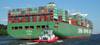 CSCL Venus on the Elbe with Destination Hamburg - Photo of stern (cropped).png