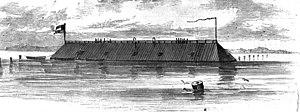 CSS Georgia ironclad