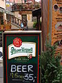 Cafe with Pilsner Urquell Beer Sign - Prague - Czech Republic.jpg