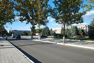 Cahul - Independence Square
