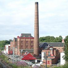 La Caledonian Brewery, fondata nel 1869, ad Edimburgo, tipico esempio delle prime produzioni industriali di birra