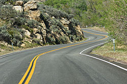 Isabella Walker Pass (State Route 178)near Canebrake