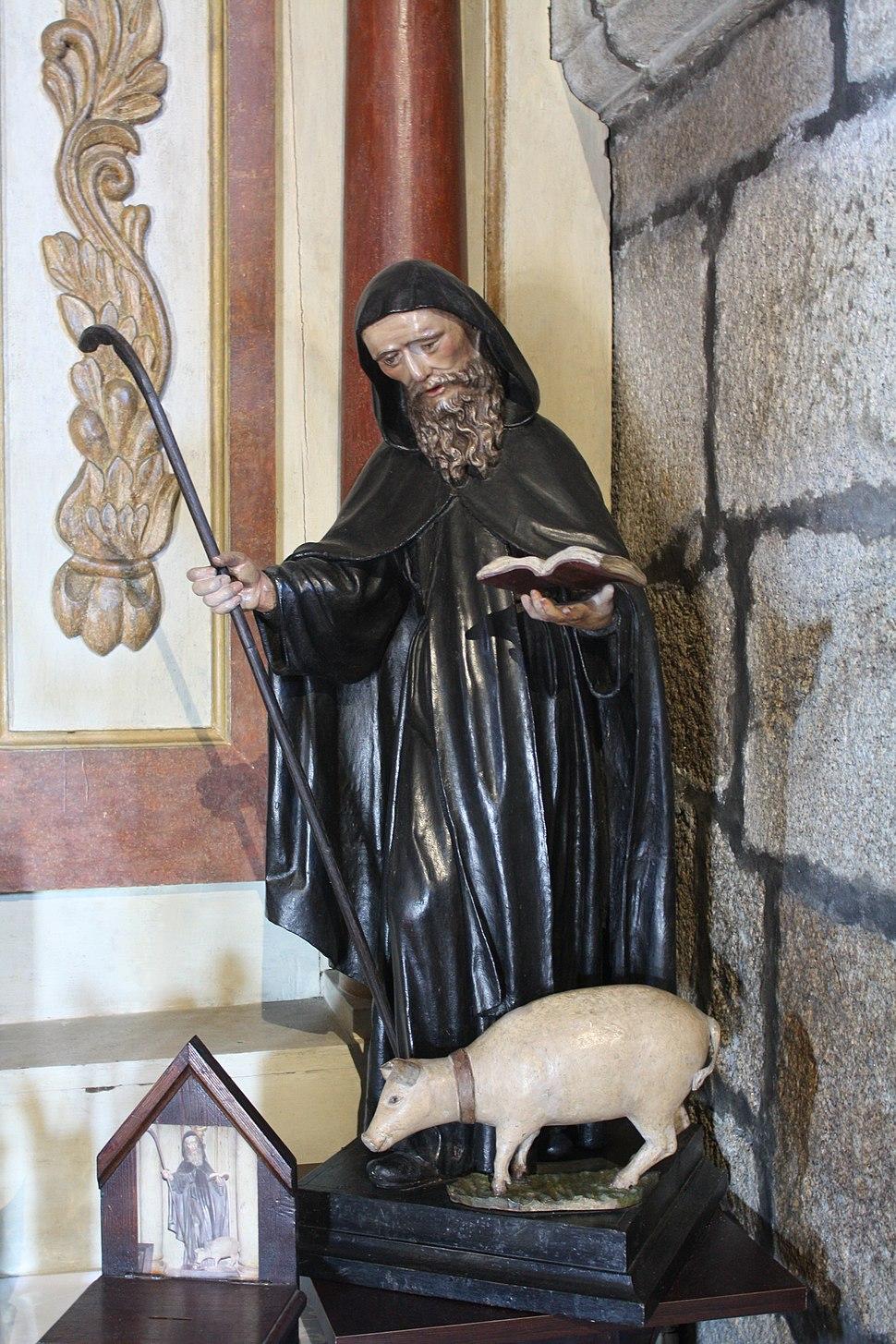 Cambados, San Antón, na igrexa de San Benito 04-17b