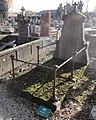 Cambrai - Cimetière de la Porte Notre-Dame, sépulture remarquable n° 22, Nicolas Moulin, tombe ancienne (01).JPG