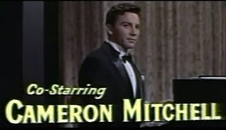 Cameron Mitchell (actor) - Mitchell in the trailer for Love Me or Leave Me (1955)
