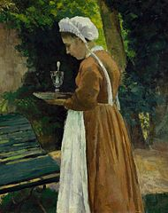 Maid at Pontoise