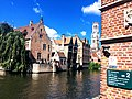 Canal Dijver, Brujas, Bélgica.jpg