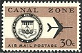Canal Zone Air Mail, 30c, 1965 Issue.jpg
