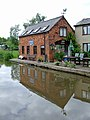 Canalside restaurant at Great Haywood, Staffordshire - geograph.org.uk - 1178945.jpg