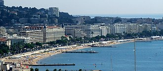 Promenade de la Croisette - Panorama of the Croisette