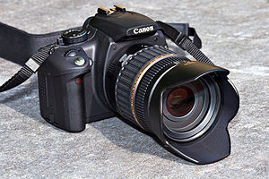 The Canon EOS 350D
