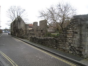 Canute's Palace - Image: Canute's palace 1