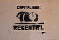 Capitalisme, rebenta'l, carrer Major de Gandia.JPG