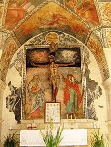 Cappella del Crocifisso-Interno