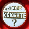 Capsule de bière Kékette (Normandie, France).jpg