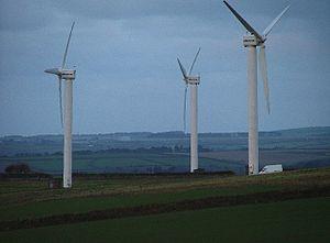Carland Cross - Carland Cross windfarm