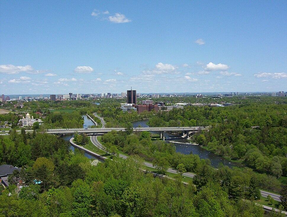 Carleton University south view 2