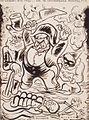 Carlos Botelho, Com Carnavais como este, Ecos da Semana, 17 Fevereiro 1938, tinta-da-china sobre papel, 45,3 x 34 cm.jpg