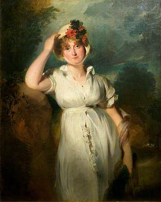 Caroline of Brunswick - Caroline, Princess of Wales by Sir Thomas Lawrence, 1798