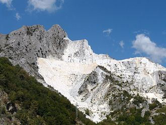 Quarry - Carrara quarry in Tuscany, Italy