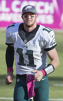 b5d2d38c0 Carson Wentz was selected second overall in the 2016 NFL Draft.
